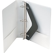 "Wilson Jones® 386 Basic D-Ring View Binder, 1 1/2"", White"