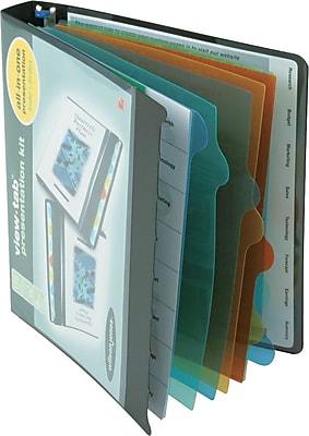 Wilson Jones® View-Tab™ Presentation Binder, 1