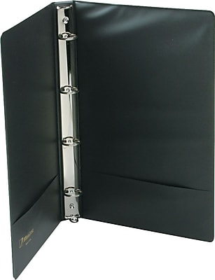 Wilson Jones® Legal Size Vinyl Round Ring Binder, 8 1/2 x 14, Non-View, Each (W80674F)