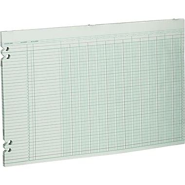 Wilson Jones® Single Page Columnar Sheets, 11