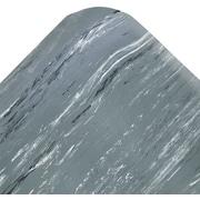 "Crown Cushion-Step® Rubber Surface Mat, 36"" x 60"", Gray"