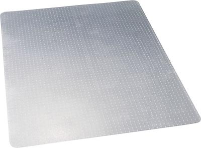 NO-LIP 46''x60'' Vinyl Chair Mat for Carpet, Rectangular (CM11442F)