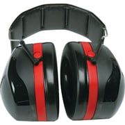Peltor® Extreme Performance Ear Muff, Black/Red, 105 dB