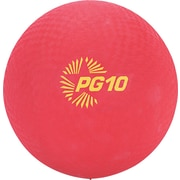 "Champion Sports Playground Ball, 10"", Red, Each (PG10)"