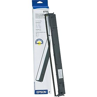 Epson 8755 Nylon Ribbon, Black