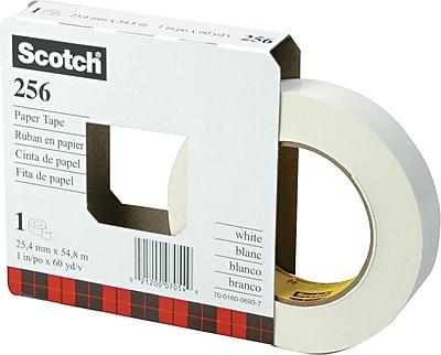 Scotch® White Paper Tape, 1