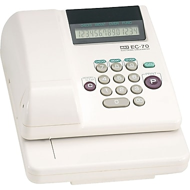 Max Electronic Checkwriter, 3 5/8