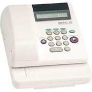 "Max Electronic Checkwriter, 3 5/8"" x 9 5/8 "" x 7 7/8"" (EC-70)"