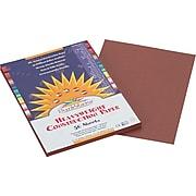 "SunWorks® Construction Paper, 9x12"", Dark Brown, 50 Sheets"