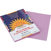 "Pacon SunWorks® Construction Paper, 58 lbs., Lilac, 9"" x 12"", 50 Sheets/Pk"