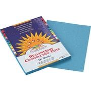 "Pacon SunWorks® Construction Paper, 58 lbs., Sky Blue, 9"" x 12"", 50 Sheets/Pk"