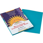 """Pacon SunWorks® Construction Paper, 58 lbs, Turquoise, 9"""" x 12"""", 50 Sheets/Pk"""