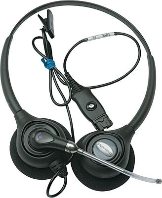 Plantronics HW261 Supra® Plus Binaural Wideband Headset with Voice-Tube Mic