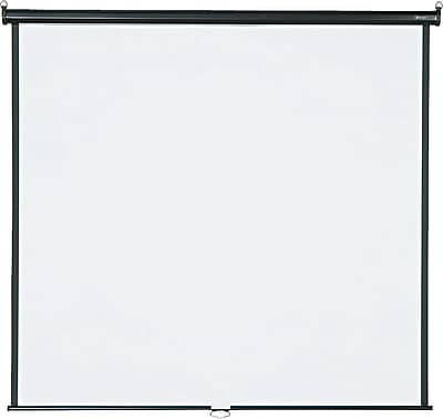 Quartet® Wall/Ceiling Projection Screen, 70