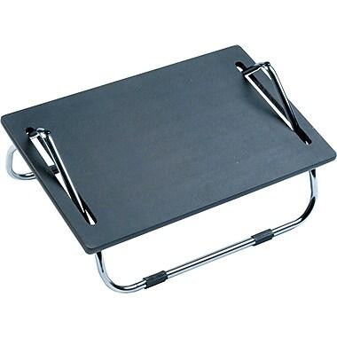 Safco Ergo-Comfort Adjustable Footrest, Black