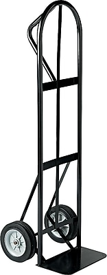 Safco® Tuff Truck™ P-Handle Truck, Black, 400 lbs. capacity (4071)