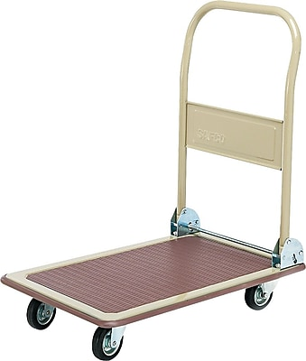 Safco Office Hand Truck 700 Pound Capacity Beige (SAF4077)