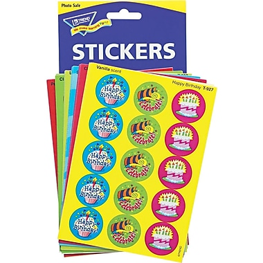 TREND Stinky Stickers Variety Pack, Holidays and Seasons, Assorted, 432/Pack (T580)