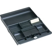 3M™ Black Plastic Adjustable Desk Drawer Organizer