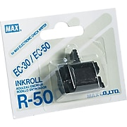 Max R50 Additional Black Replacement Ink Roller, For Max CheckWriter
