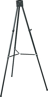 Quartet® Aluminum Heavy-Duty Telescoping Easel, 66
