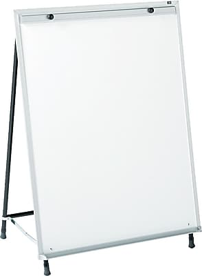 Quartet® Whiteboard Steel Easel, 29