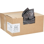 Webster Classic 2-Ply Trash Bags, Heavy Strength, .9 mil, 55-60 Gallon Bags, 100/Carton