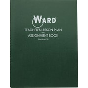 """Lesson Plan Book, Wirebound, 8 Class Periods per Day, 11"""" x 8 1/2"""", 100 Pages"""