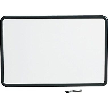 Quartet® Contour Whiteboard, 3' x 2', Black Frame (7553)