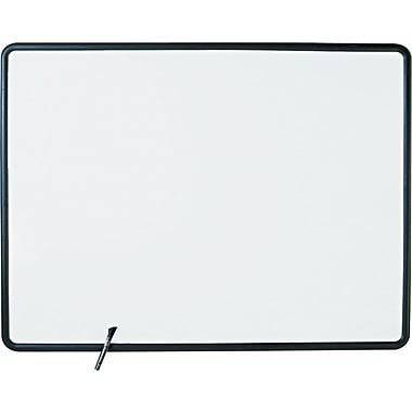Quartet® Contour® Melamine Dry-Erase Boards with Textured Plastic Frame