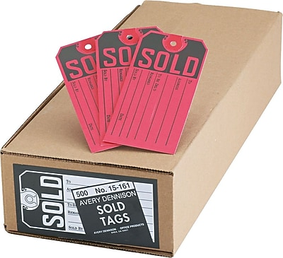 Avery Sold Tags, 4 3/4