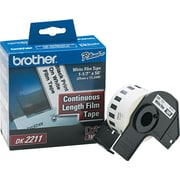 Brother P-Touch® Label Printer Film Labels, DK2211, White, 50' x 1 1/7""