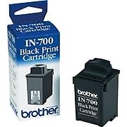 Brother IN-700 Black Ink Cartridge, Standard Yield
