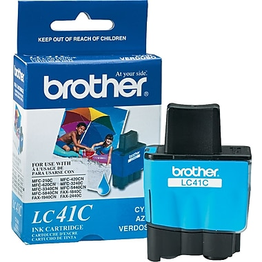 Brother – Cartouche d'encre cyan LC41C