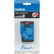 "Brother 1pk 1/2"" Black on Red tape"