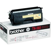 Brother TN560 Black Toner Cartridge, High Yield (TN560)