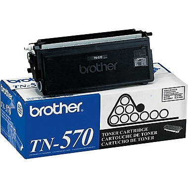 Brother TN570 Black Toner Cartridge, High Yield (TN570)