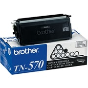 Brother TN-570 Black Toner Cartridge, High Yield