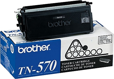 Brother Genuine TN570 Black High Yield Original Laser Toner Cartridge