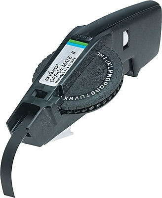 DYMO 154000 Officemate® Trade II 3/8-Inch Black Label Maker