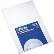 "Epson® Premium High-Gloss Photo Paper, 13"" x 19"", White, 20 Sheets/Pack (S041289)"