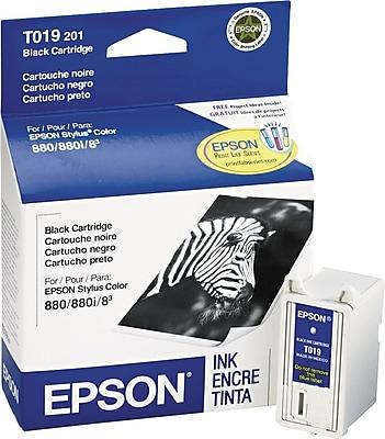 Epson 19 Black Ink Cartridge (T019201)