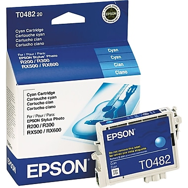Epson® – Cartouche d'encre T048220, cyan