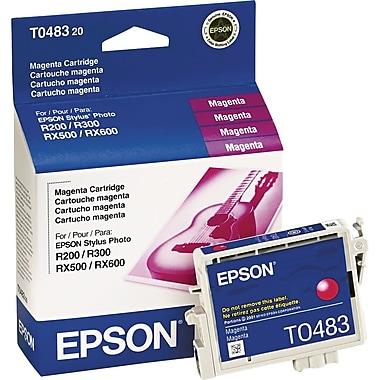Epson® – Cartouche d'encre T048320, magenta