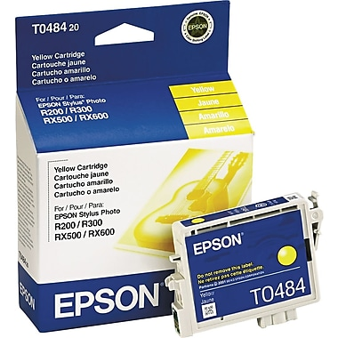 Epson® – Cartouche d'encre T048420, jaune