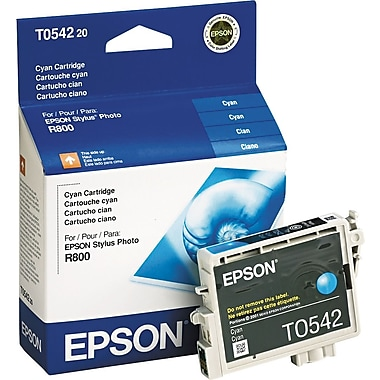 Epson 54, Cyan Ink Cartridge (T054220)