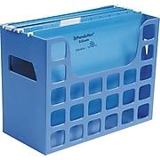 "Esselte Decoflex Hanging File Folder,  Blue,  9 1/2""H x 12 3/16""W x 6""D"