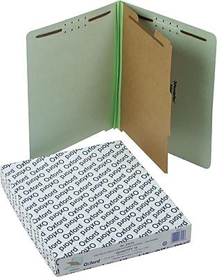 Pendaflex® End Tab Classification Folders, Letter, 1 Partition, 10/Box