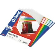 Pendaflex® Poly Index Folders, LETTER-size, Assorted, 10/Pk