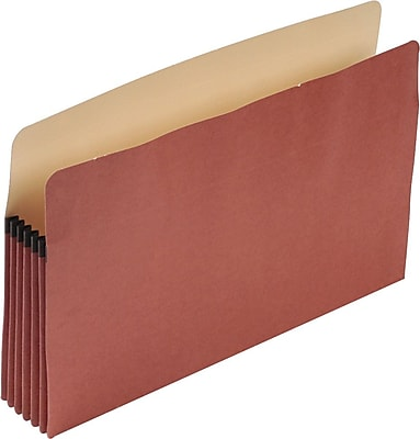 Earthwise® by Pendaflex® 100% Recycled File Pockets, Legal Size, 10/BX (E1536G)